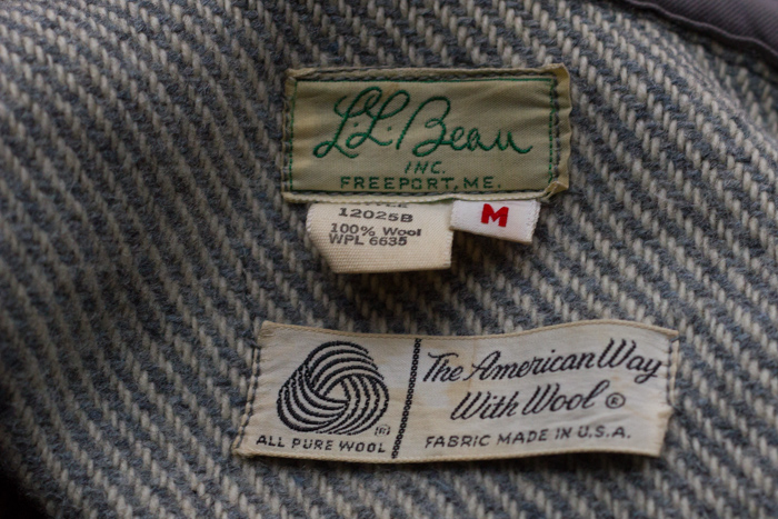 28ccf81a3afaa8 I love the tag on this vintage L.L.Bean sweater that I thrifted a while  back. In a modern world of mass produced clothing, I wish more American  companies ...